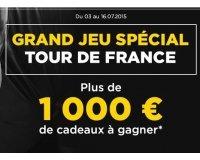 Montres & Co: Plus de 1000€ dont des places pour l'arrivée du Tour de France à gagner