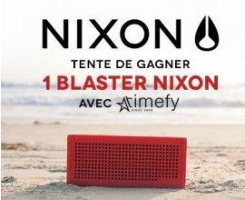 Timefy: 1 Enceinte Sans Fil Blaster NIXON à gagner