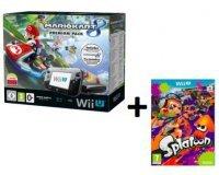 Amazon: Nintendo Wii U 32 Go noire + Mario Kart 8 + Splatoon à 309€