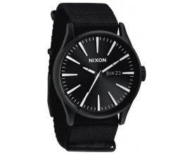 Timefy: Montre Nixon Sentry All Black Nylon à 91,25€ au lieu de 169€