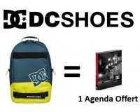 DC Shoes: 1 sac à dos DC Shoes acheté = 1 agenda offert