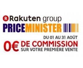 Rakuten: 0€ de commission sur votre 1ère vente