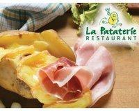 Groupon: Payez 1€ Le Bon de Réduction de 10€ à Valoir Dans Les Restaurants La Pataterie