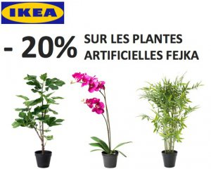 ikea family 20 sur toute la gamme des plantes artificielles fejka ikea. Black Bedroom Furniture Sets. Home Design Ideas