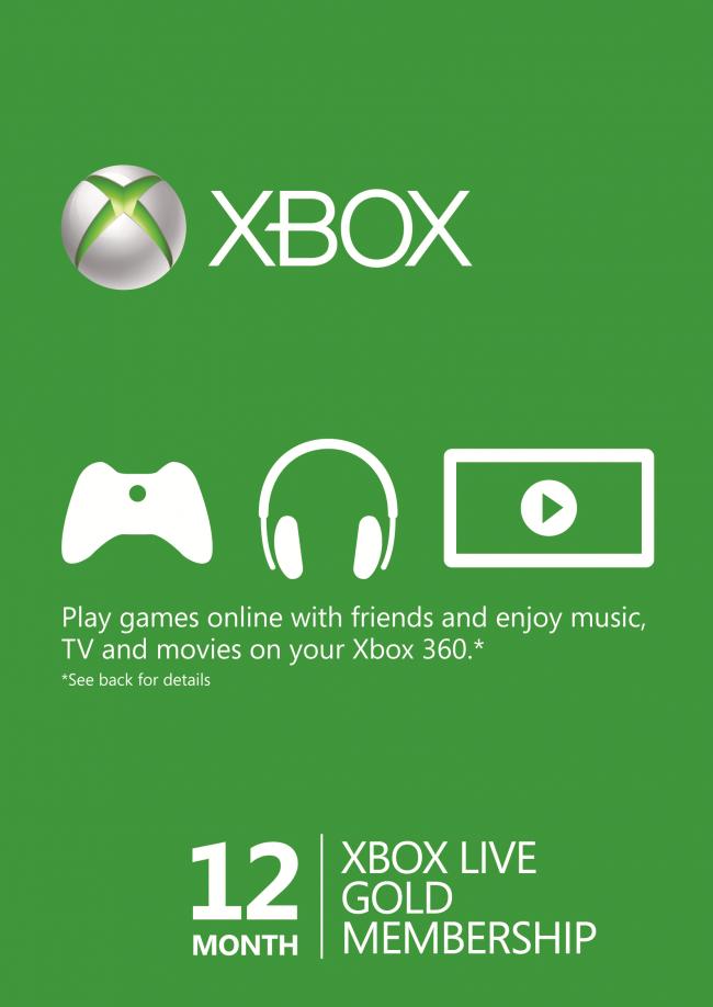 Code promo eBay : 12 mois d'abonnement au Xbox Live Gold à 35,99€