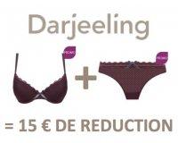 Darjeeling: 1 haut + 1 bas = 15€ de réduction immédiate