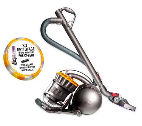 Code promo BUT : Aspirateur sans sac DYSON DC33C + Cleaning Kit à 249,99€