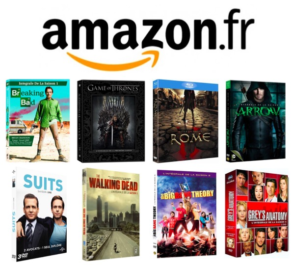 Code promo Amazon : 1 Série TV achetée = la 2ème offerte
