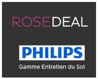 Vente Privée: Rosedeal Philips : Payez 5€ Pour 40% de Bon de Réduction sur les Aspirateurs