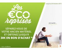 Boulanger: Les ÉCO-Reprises : jusqu'à 30€ offerts en recyclant votre ancien matériel