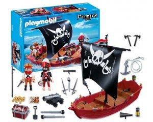 5298 chaloupe des corsaires de playmobil - Bateau corsaire playmobil ...