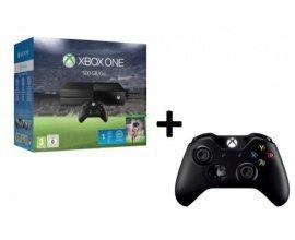Amazon: Pack Xbox One + Fifa 16 + 2ème manette sans fil Xbox One + câble pour PC à 349€