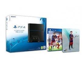 Amazon: Console PS4 1To + FIFA 16 + Steelbook FIFA 16 exclu à 399€
