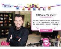 """IDTGV: 10 places pour le spectacle Norbert """"Show Patate"""" à gagner"""
