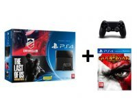 Micromania: PS4 + 2e manette + The Last of Us, DriveClub & God of War III à 399,99€