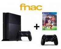Fnac: Console PS4 1TO + FIFA 16 + une 2ème Manette + 45€ de chèque cadeau pour 399,90€