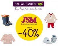 Sergent Major: Journées Sergent Major : jusqu'à -40% sur une sélection de vêtements enfant