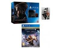 Amazon: PS4 + Metal Gear Solid V + Steelbook + Destiny : le roi des corrompus pour 399€