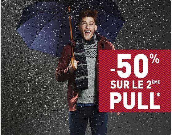 Code promo Jules : 50% de réduction sur le 2ème pull acheté
