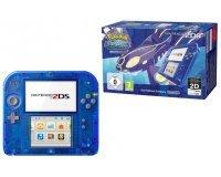 Auchan: Console Nintendo 2DS Transparente Bleue + Pokémon Saphir Alpha à 89,99€