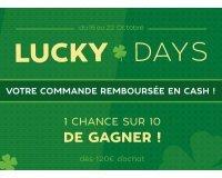 Motoblouz: LUCKY DAYS : 1 chance sur 10 de vous faire rembourser votre commande