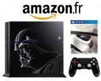 Amazon: Console PS4 1To + le jeu Star Wars : battlefront - édition limitée à 429,90€