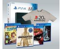 Cultura: 1 PS4 1To + 1 manette 20th anniversary, 40 jeux PS4 et 30 t-shirts à gagner