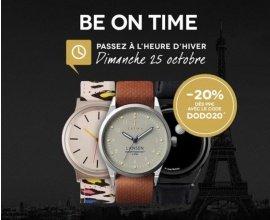 Timefy: 20% de réduction dès 99€ d'achat