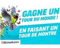 Cdiscount: 1 Tour du monde pour 2 (valeur 20 000€) à gagner en commandant d'ici ce soir