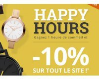 Montres & Co: Happy Hours : 10% de réduction sur tout le site