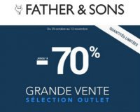 Father & Sons: Jusqu'à -70% sur une sélection d'articles