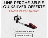 Quiksilver: Une perche à selfie offerte dès 100€ d'achat