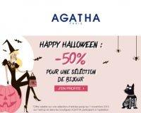 Agatha: Happy Halloween : -50% sur une sélection de bijoux