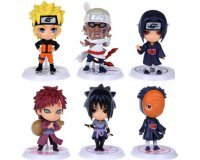 AliExpress: Lot de 6 figurines du manga Naruto à 3,70€ livraison comprise