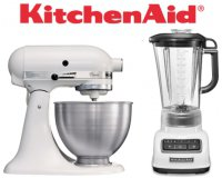 Cdiscount: Pack KitchenAid Classic : Robot sur socle + Blender/Mixeur à 299,99€