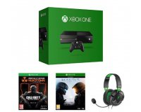 Amazon: Xbox One + Call of Duty: Black Ops III + Halo 5: Guardians + casque Turtle Beach