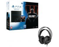 Cdiscount: Pack PS4 1To + Call Of Duty Black Ops III + Casque SteelSeries P300 à 399.99€