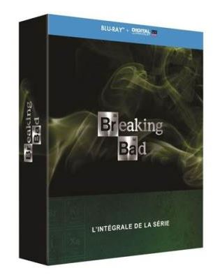 Code promo Amazon : Coffret bluray de l'intégral de la Série Breaking Bad à 39,99€