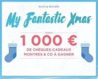 Montres & Co: Jusqu'à 1000€ de chèques-cadeaux à gagner