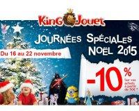 King Jouet: - 10% dès 50€ d'achat