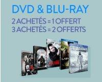 Cultura: 2 DVD ou Blu Ray achetés = 1 offert ou 3 achetés = 2 offerts