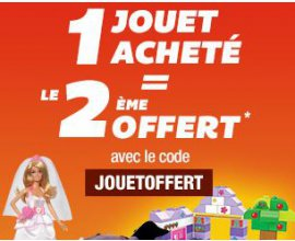 Auchan: 1 jouet acheté = le 2ème offert parmi une sélection de plus de 110 articles