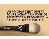 myDermaCenter: 1 fond de teint & 1 produit pureté thermale acheté = 1 pinceau teint offert