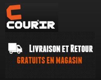 Code promo Courir : Livraison gratuite en magasin sans minimum ou à domicile dès 80€ d'achat