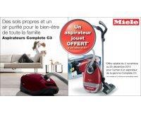 Miele: 1 aspirateur jouet offert pour l'achat d'un aspirateur de la gamme Complete C3