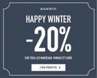 Father & Sons: - 20% sur tous les manteaux, parkas et cuirs