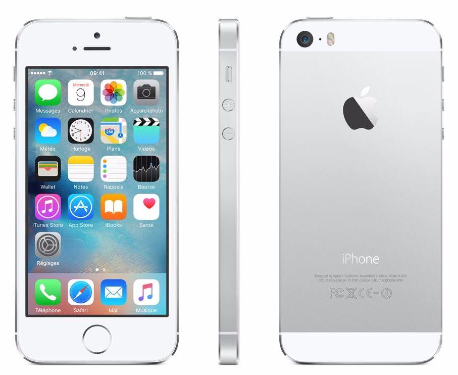 Code promo Cdiscount : iPhone 5S 16 Go couleur argent à 348€