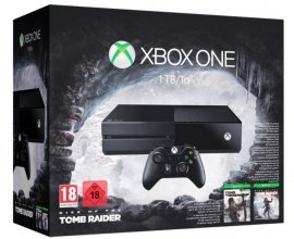 ToysRUs: Xbox One 1To + Rise of the Tomb Raider + Tomb Raider Definitive Edition à 199€