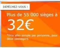 easyJet: Plus de 55 000 sièges à 32€ pour des vols du 14 décembre au 30 juin 2016