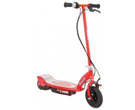 King Jouet: Trottinette électrique E100 rouge à 158,99€